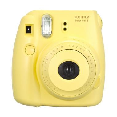 Fujifilm Instax 8s Kamera Polaroid - Yellow