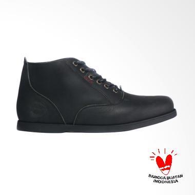 Bradley's Bradleys Morgan Sepatu Kulit Pria Bradley - Brown