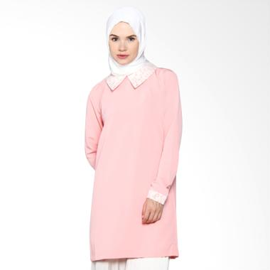 ICL Boutique Daisy Dress Tunik Muslim -  Pink Peach