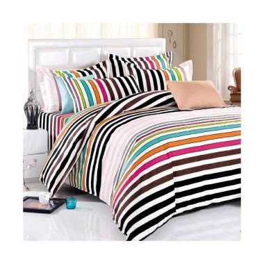 Beglance Cotton Terra Bed Sheeet Set Sprei - Multi