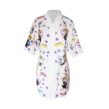 Rainy Collections Karakter Frozen Handuk Kimono Anak Balita - Ungu