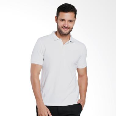 Giordano Cambrey Polo Shirt Pria - White [0101725301]