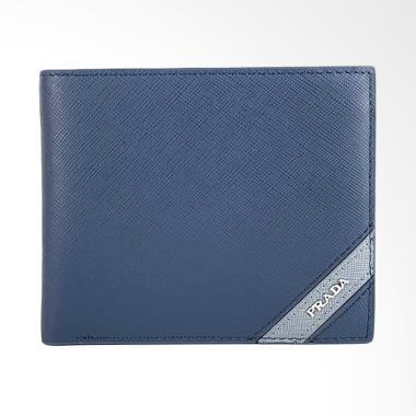 Prada Dompet Pria - Blue [PRD SUA-2619]