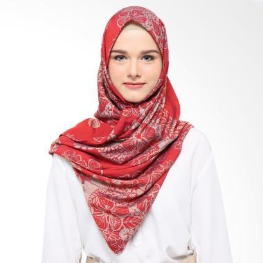Fey Attire Kirei Pashmina Jilbab Wanita - Red