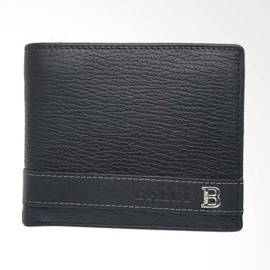 BALLY Dompet Pria - Black [RRJ-12]