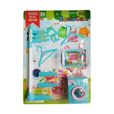 Toystoys 0960200026-2 Mini Mesin Cuci Play Set Mainan Anak - Biru
