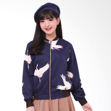 LEMONE SWE100032 Tumblr Premium Jaket Bomber Wanita