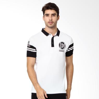 RBJ Polo Shirt Pria - Putih [256750411]