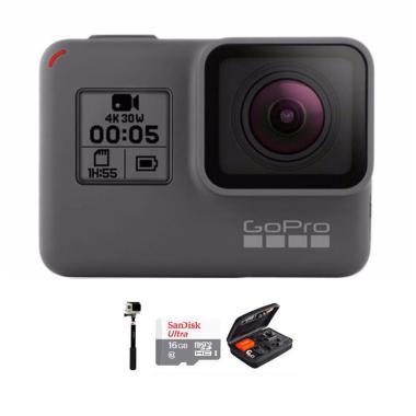 GoPro Hero 5 Combo Deluxe 16GB Action Camera - Black