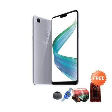 ... Uniqtro Universal Telezoom 8x Smartphone Lense Untuk Oppo . Source · Oppo F7 Smartphone - Silver [4GB/ 64GB] + Free Paket Sholat Pria