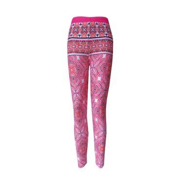 Rainy Collections Motif Batik Celana Legging Anak - Pink