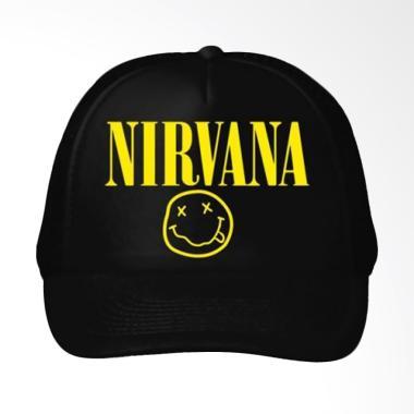 One Tshirt Nirvana Topi Pria
