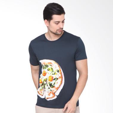 RBJ Obl T-Shirt Pria - Abu Tua [259870121]