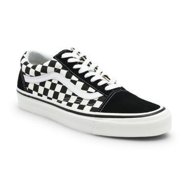 Vans UA Old Skool 36 DX Anaheim Factory Sneakers Pria - Black Check b8eecd8946