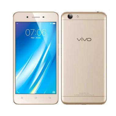 Vivo Y53 Smartphone - Gold [16GB/2G ...  750 Mililiter Dan I-Ring