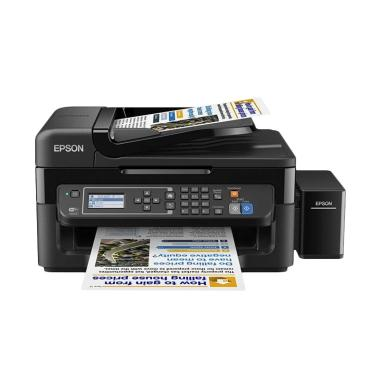 Epson Printer All-in-One L565 Wifi - Hitam (Print, Scan, Copy, Fax)