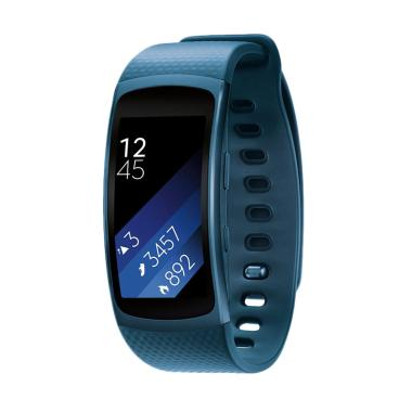 Samsung Gear Fit 2 Long Strap Smartwatch - R360 - Blue