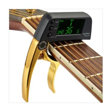 MeIdeal Capo Gitar with Tuner