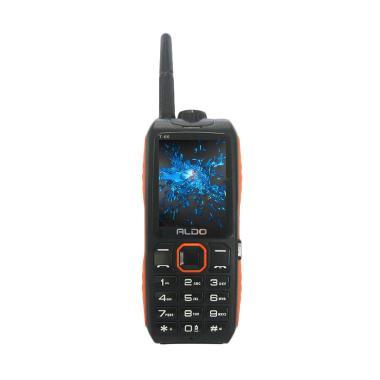 Aldo T66 Handphone - Orange [Dual SIM/ 10000 mAh]