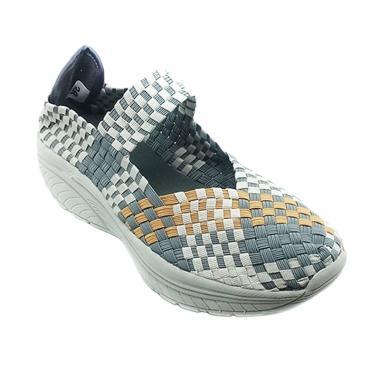 Kiddo 2052 Sepatu Rajut Wanita - Abu