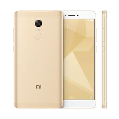 Xiaomi Redmi Note 4X - Gold [32GB/ 3GB] Distributor