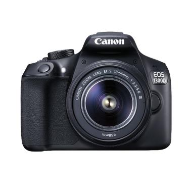 Canon EOS 1300D Kit EF-S 18-55mm II ... Memory 16GB + Screenguard