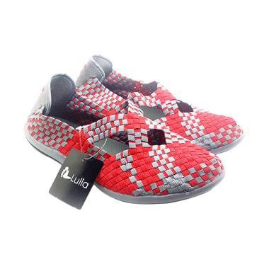 Lulia VS3219 Sepatu Rajut Wanita - Merah