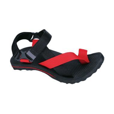Syaqinah Sandal Pria - Merah [319]