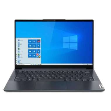 harga LENOVO Yoga Slim7 - 14ARE05 - AMD RYZEN 5-4500U - WIN10+OHS [82A200BHID] Slate Grey Blibli.com