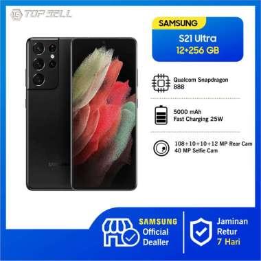 Samsung Galaxy S21 Ultra 5G Smartphone [256GB/ 12GB] BLACK