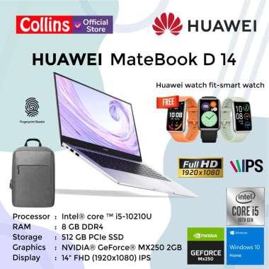 HUAWEI Matebook D14 REBORN - I5-10210U DDR4 8GB 512GB MX250 2GB 14