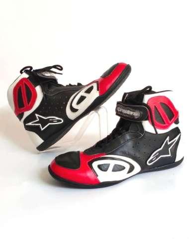 harga Sepatu Motor Touring Pria Casual Bahan Kulit Sapi Asli Sepatu Alpin Harian Bikers Boot Balap Keren Leather 40 RED WHITE Blibli.com