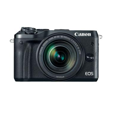 Canon EOS M6 Kit 18-150mm IS STM Ka ... een Guard + Extra Battery