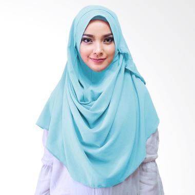 Milyarda Hijab Saraha Jilbab Instan - Biru