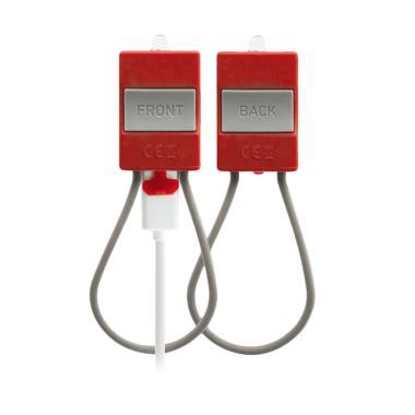 Bookman USB Light Lampu Sepeda - Red