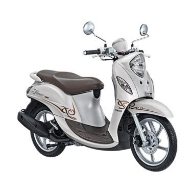 Yamaha New Fino 125 Premium Blue Core Sporty Sepeda Motor [VIN 2019/ OTR Sumatera Utara]