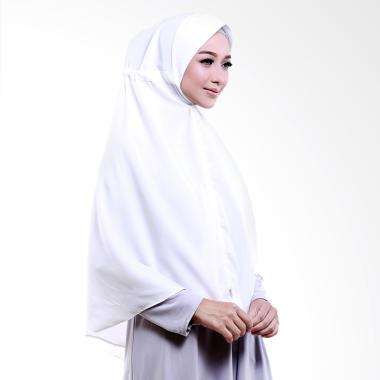 Cotton Bee Khimar Hamida Jilbab Instant - Off White