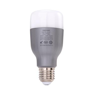 Xiaomi RGB E27 Yeelight 2 Smart Bulb Lampu LED [9 W/ 600 Lumens]