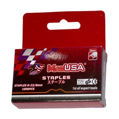 Macusa Refill Staples R23 [8 mm/ 3 pcs]