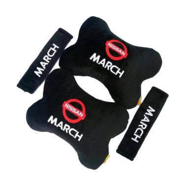 harga Indonesia Motor Motif Nissan March Set Aksesoris Interior Mobil - Black Blibli.com