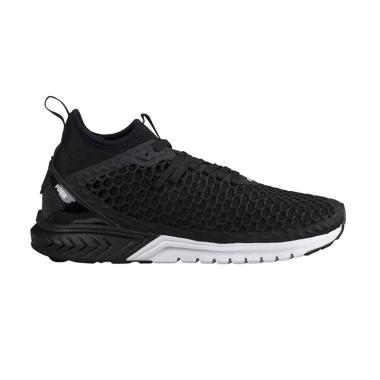 PUMA Ignite Dual Netfit Sepatu Lari Wanita - Black