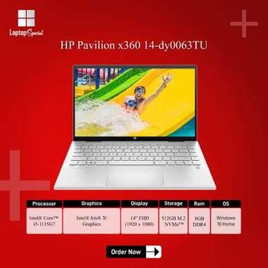 harga HP Pavilion x360 14 dy0063TU / dy0064TU i5-1135G7 8GB 512GB 14