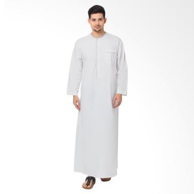 Arafah GP Yazid Gamis Baju Koko Pria - White