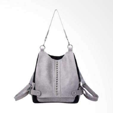 Fashion 0930020518 Import Backpack Wanita - Gray