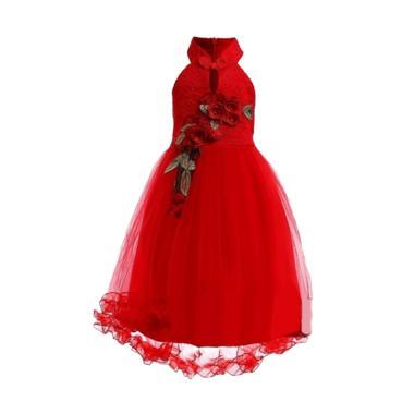 Tong-Tong Mi Cheongsam Dress Anak - Red