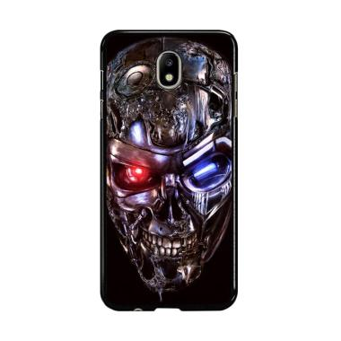 Flazzstore Terminator Robot Skull Y2128 Premium Casing for Samsung Galaxy J7 Pro 2017