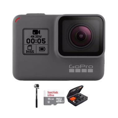 GoPro Hero 5 Combo Attanta Deluxe 16GB Action Camera - Black