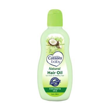 Cussons Baby Natural Hair Oil Coconut & Vit E [100 mL]