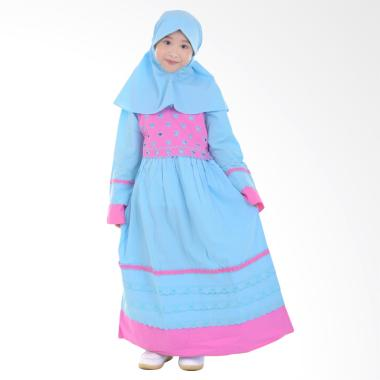 harga Jesca and Paul 210 Lovina Gamis Baju Muslim Anak - Blue Blibli.com