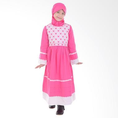 Jesca and Paul 210 Lovina Gamis Baju Muslim Anak - Magenta